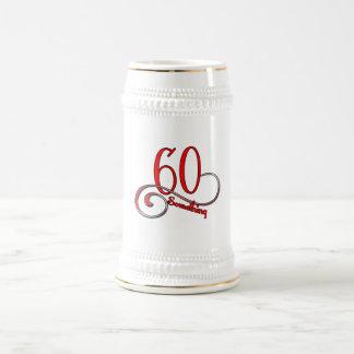 60 Something Beer Stein