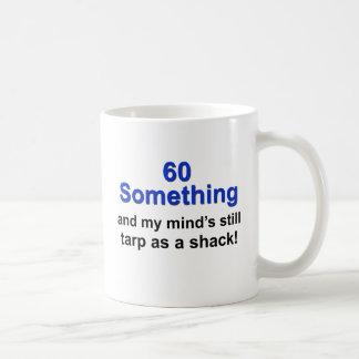 60 Something ... Classic White Coffee Mug