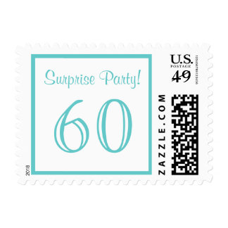 60 Surprise Party Postage