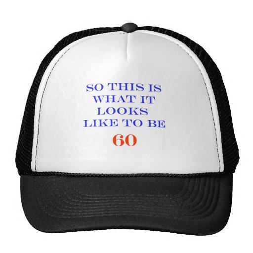 60 What It Looks Like Mesh Hats