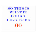 60 What It Looks Like Postcards