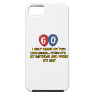 60 year old birthday designs iPhone 5 cases