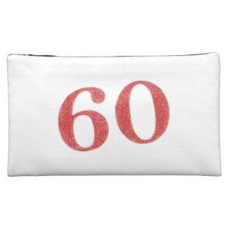 60 years anniversary makeup bag