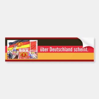 60 years GDR Bumper Sticker