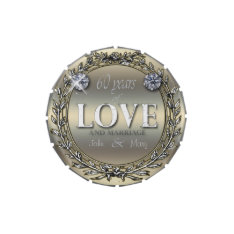 60 Years Of Love Candy Tins at Zazzle