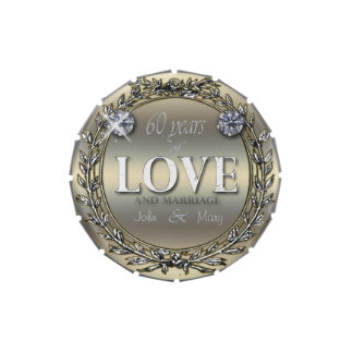 60 Years of Love Candy Tins