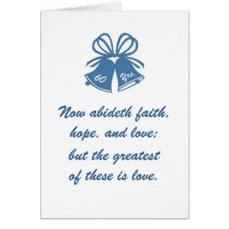60 years of love greeting card