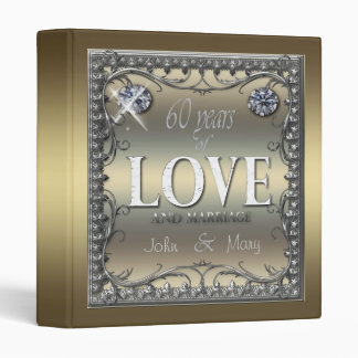 60 Years of Love ID196 3 Ring Binder