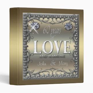 60 Years of Love ID196 3 Ring Binder