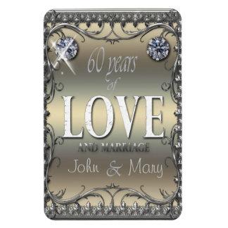 60 Years of Love ID196 Rectangular Photo Magnet
