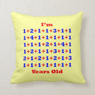 60 Years Old Throw Pillow