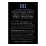 60 years, the Geneva Convention Poster
