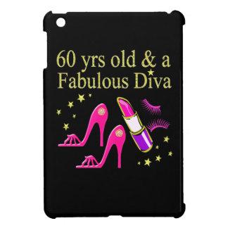 60 YRS OLD & A DAZZLING DIVA iPad MINI COVER