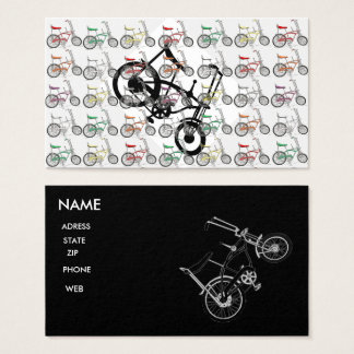 60'S BIKE BICYCLE CLASSIC SCHWINN BUSINESS CARD