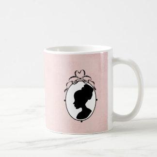 60s Cameo Coffee Mug