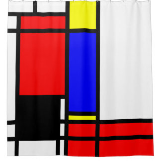 60s Chic Shower Curtain