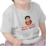 60's Child Funny Cartoon Peace Kid Tee Shirt