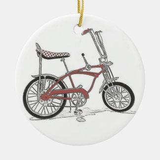 60's Classic Schwinn Stingray Muscle Bike Bicycle Ceramic Ornament