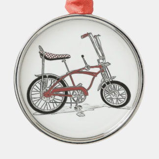 60's Classic Schwinn Stingray Muscle Bike Bicycle Metal Ornament