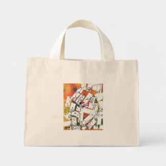 60s Graffiti painting Bags
