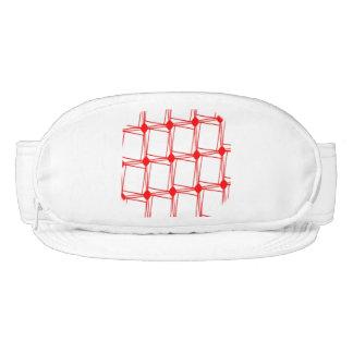 60s graphic pattern visor