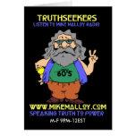 60'S HIPPIE TRUTHSEEKER CARD