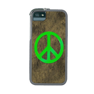 60's Hippy Peace Symbol Retro Pacifist Art iPhone 5 Covers