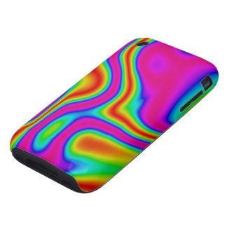 60s iPhone líquido 3G/3GS del color #1 duro Tough iPhone 3 Coberturas