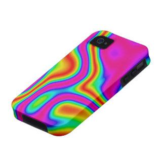 60s iPhone líquido 4 del color #1 duro Carcasa Vibe iPhone 4