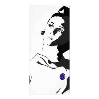 60's Lady Rack Card