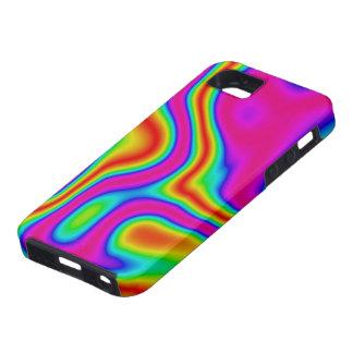 60s Liquid Color #1 iPhone 5 Tough iPhone SE/5/5s Case