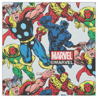 60's Marvel Avengers Graphic Fabric