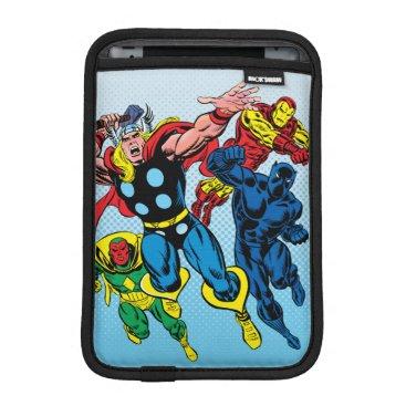 60's Marvel Avengers Graphic iPad Mini Sleeve