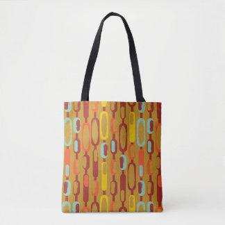 60s Mod Style Retro Tote Bag