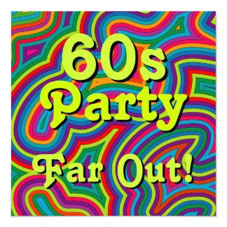 60s Party Invitation