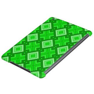60s pattern MARLENE green iPad Air Cases