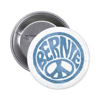 60s paz Bernie Pin Redondo De 2 Pulgadas