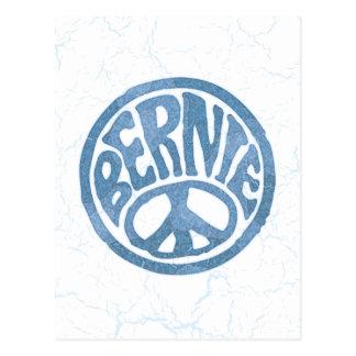 60s Peace Bernie Postcard