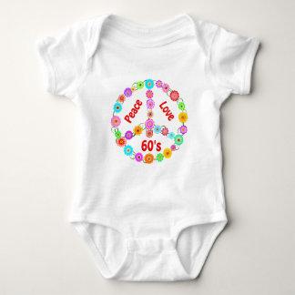 60s Peace Love Tee Shirt