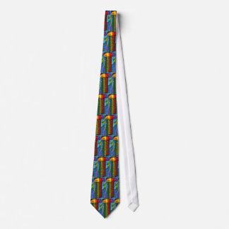 60s Peter Max style screws Tie