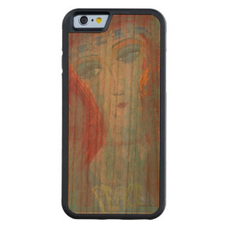 60's Sarah Carved Cherry iPhone 6 Bumper Case