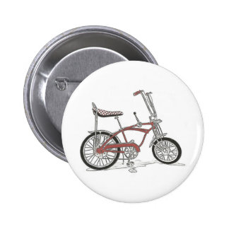 60's Schwinn Stingray Apple Krate Muscle Bike Pinback Button