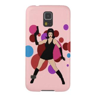 60s Spy Girl Galaxy S5 Case