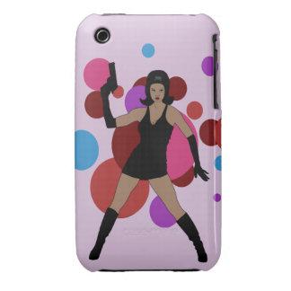 60s Spy Girl iPhone 3 Case