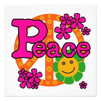 60s Style Peace T-shirts and Gifts Announcement