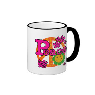 60s Style Peace T-shirts and Gifts Mug