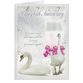 60th Anniversary - Diamond Anniversary Card