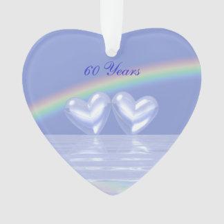 60th Anniversary Diamond Hearts