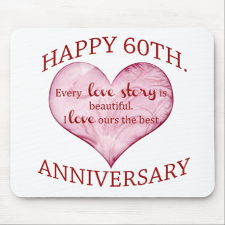 60th. Anniversary Mouse Pad
