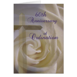 60th Anniversary of Ordination Card